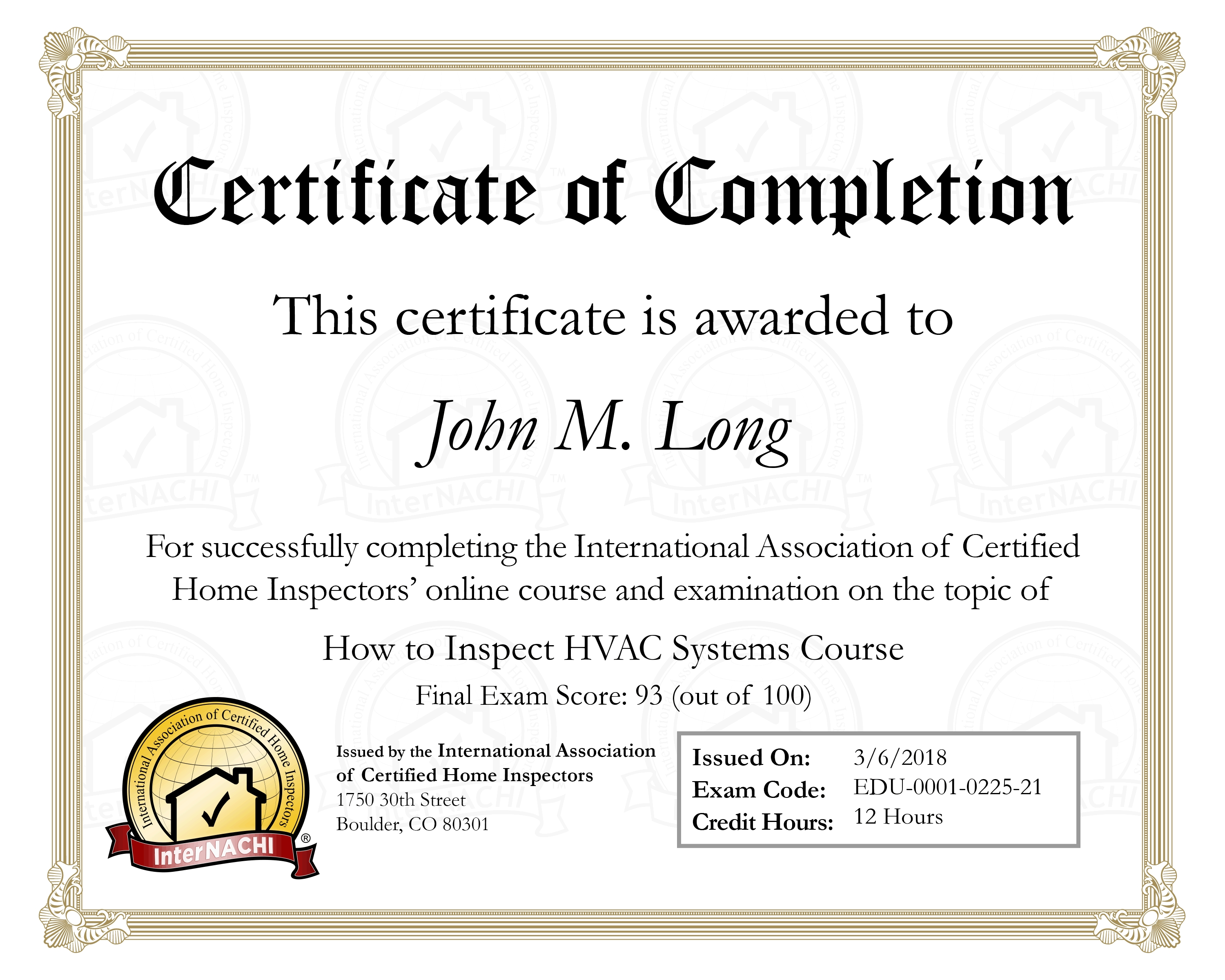 How To Inspect Hvac Systemsinternachi Certificate Nw Chicago Home